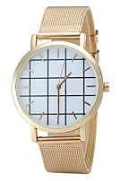 Hombre Mujer Reloj de Moda Reloj de Pulsera Reloj creativo único Chino Cuarzo Aleación Banda Cosecha Encanto Casual Elegantes Negro Plata