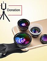 Donews 8x длинные фокусные линзы объектива объектива для объектива с объективом 0.4x широкоугольный 12x макро-объектив с рыжим глаз для