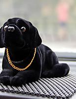 DIY автомобильные кулоны куклы, тряска головой украшение для собаки украшает милые творческие щенки хриплый кулон