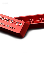 Llave de metal de aleación de aluminio keycap entrar keycap conjunto de tapa de teclado mecánico impreso