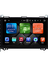 9 pulgadas quad core android 6.0.1 coche multimedia audio sistema de reproductor de gps no dvd 2gb ram construido en wifi&3g DAB ex-tv