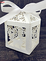 50pcs Wedding Favors Gift Box for Candy 50pcs Packaging Paper Box Marriage Embalagem Baby Shower Party Supplies