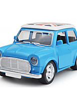 Mini Back Door Vintage Car With Light Music Alloy Rondon Color