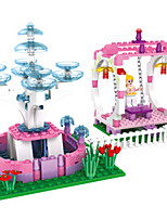 Building Blocks For Gift  Building Blocks Castle Plastics ABS 6 Years Old and Above Toys