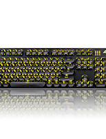 Ajazz keycaps набор для механической клавиатуры клавиатура gamimg steampunk keycaps 104 клавиши