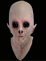 Halloween alien head cover ufo science-fiction film thème cos horror ghost latex masque tilin