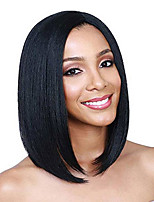 High Quality Silk Straight Bob Human Hair Wigs Natural Black Indian Human Hair Glueless Lace Front Bob Wigs