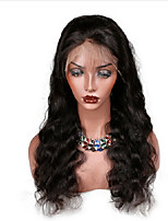 Lace Front Human Hair Wigs Body Wave Natural Color Brazilian Remy Hair Lace Wigs For Black Women With Baby Hair