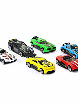 Race Car Vehicle Car Toys 1:64 Plastics Aluminum Alloy Carbon