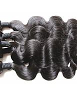 Оптовые лучшие бразильские комплекты волос 6pcs 600g много для двух головных переплетов, установленных 100% необработанных бразильских