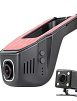 A100 1080p  No Screen Car DVR  Hidden Double Lens Drive Recorder HD Night Vision