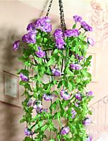 1 шт. 1 Филиал Полиэстер Гвоздика Цветы на стену Искусственные Цветы
