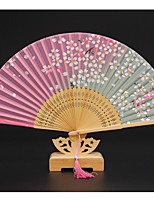 1 Piece/Set Silk Fan/Silk Lady Folding Fan/Japanese Cherry Bamboo Fan/Japanese Fan/Gift fan