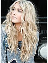 Потусторонние волосы с длинными волнами