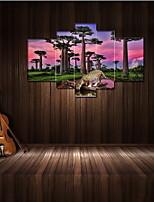 Cinque Pannelli Orizzontale Stampa Decorazioni da parete For Decorazioni per la casa