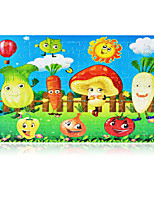 Jigsaw Puzzles Jigsaw Puzzle Building Blocks DIY Toys Others Apple Tomato Sun Wooden