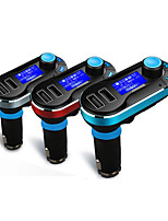 Car FM Transmitter Handsfree Car Kit With Dual USB Charger Ports