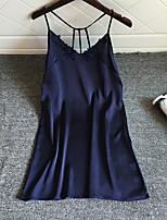 Жен. Ультра-секси Ночное белье Сексуальные платья Однотонный