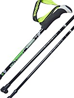 3 Nordic Walking Poles 135cm Simple Durable Carbon Fiber Camping & Hiking Outdoor Exercise Outdoor
