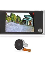Digital Electronic Video Doorbell Door Hole Peephole Long Standby 120 Degree Wide Angle