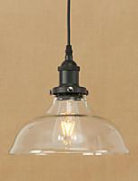 Подвесные светильники привели 4w традиционный / классический / винтаж / ретро столовая / кабинет / офис / прихожая металл