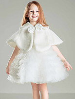 Kids' Wraps Shrugs Faux Fur Polyester Wedding Party/ Evening Bowknot