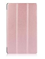 Padrão de cor sólida caso de couro pu com suporte para lenovo tab 4 8 (tb-8504f / n) tablet de 8 polegadas