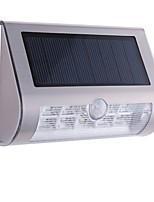 0407 10LED Lamp Beads Solar LED Outdoor Garden Wall Lamp Stainless Steel Body Sensor Lights Infrared Sensor Lights Garden Lights