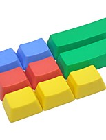 9 llaves pbt colorido keycap conjunto de teclado mecánico no impreso