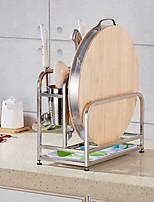 Free Punching Desktop Stainless Steel Kitchen Shelf Seasoning Shelf Hardware Pendant Storage Pendant
