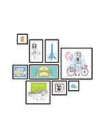 Wall Stickers Wall Decas Style Creative Photo Combination PVC Wall Stickers