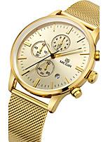 MEGIR Муж. Спортивные часы Модные часы Повседневные часы Часы Дерево Наручные часы Уникальный творческий часы Кварцевый Календарь