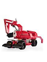 DIY KIT Building Blocks Educational Toy Pull Back Car/Inertia Car For Gift  Building Blocks Excavating MachineryPlastics Acetate/Plastic