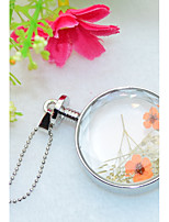 Women's Pendant Necklaces Round Flower Alloy Cute Style Adorable Jewelry For Wedding Party Birthday Graduation Gift Daily