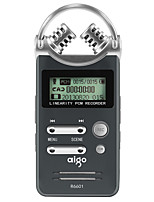 Aigo R6601 Digital Voice Recorder Professional HD Long Range Recorder Dual Microphone Fast Charge Lithium Battery 8GB