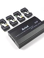 Универсальный адаптер для ноутбука 505s-90w 3 отверстия соединительная линия с 8 разъемами двойного использования в автомобиле и дома
