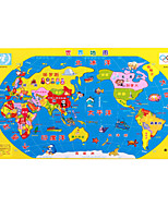 Jigsaw Puzzles Wooden Puzzles Building Blocks DIY Toys Triangle Other Oval