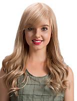 Преобладающие эфирные косые черты длинноволновые человеческие волосы парики