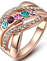 Settings Ring Luxury Euramerican Fashion Multicolor Irregular Style Birthday Wedding Movie Gift Jewelry
