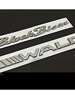 Emblema automotriz para mercedes-benz bmw lexus marca de metal puro