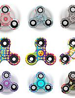 Спиннеры от стресса Ручной обтекатель Волчок Игрушки Игрушки Tri-Spinner Кольцо Spinner Ацетат / пластик EDCСтресс и тревога помощи