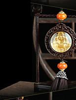 DIY автомобильные подвески высококлассные одностороннее улыбающееся лицо Будда автомобиль подвеска&Украшения из нефрита
