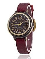 Жен. Модные часы Наручные часы Уникальный творческий часы Повседневные часы Китайский Кварцевый Кожа ГруппаВинтаж Повседневная Элегантные