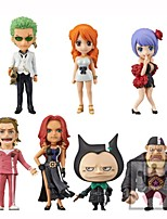 Anime Action Figures Inspired by One Piece Cosplay PVC CM Model Toys Doll Toy 1set