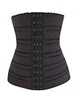 Corset Vêtement de nuit Femme,Sexy Push-up Solide Polyester