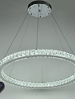 Dimmable Round Ring LED Ceiling Pendant Light Modern Chandeliers Lighting Indoor Lamp with Remote Control