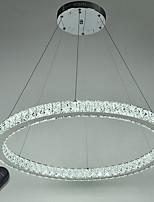 Anneau rond réglable plafonnier plafonnier lustre moderne lustres éclairage lampe d'intérieur avec télécommande