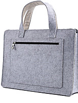 For Macbook 14 Inches Wool Felt Laptop Bags Cabinet Handbag