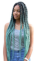 Crochet Braid Hair Ombre Jumbo Braids Synthetic Crochet Hair Extensions 24inch 100g 2Tone