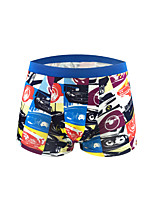 Men's Striped Boxers Underwear,Cotton